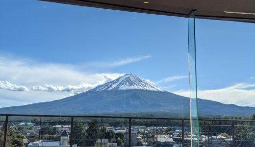 河口湖の富士山が見える絶景カフェ